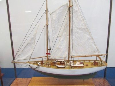 Blue Goose - a fishing schooner