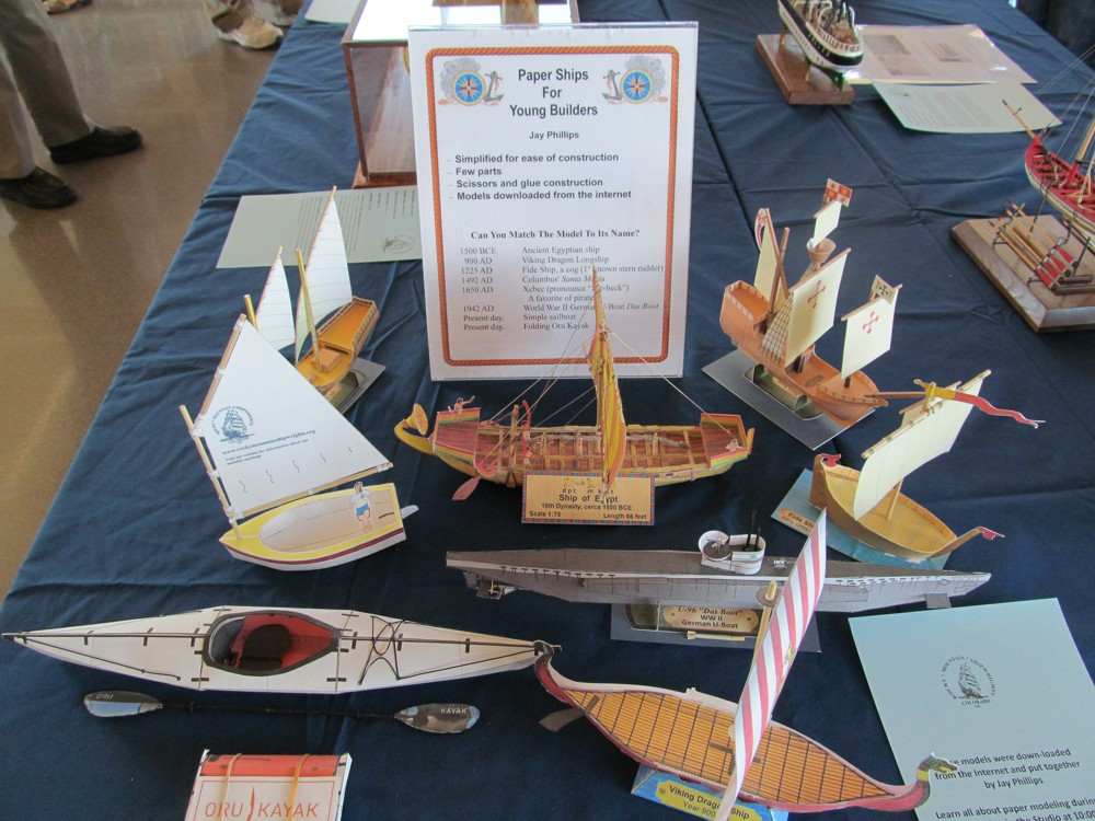Models on Display | Rocky Mountain Shipwrights